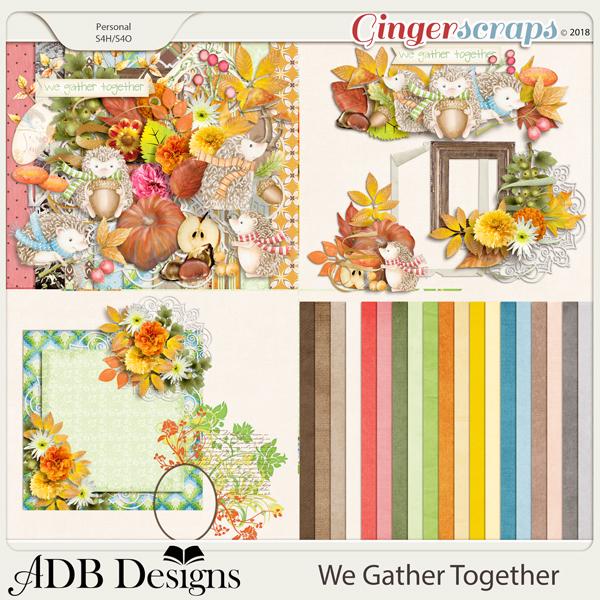 We Gather Together Bundle by ADB Designs