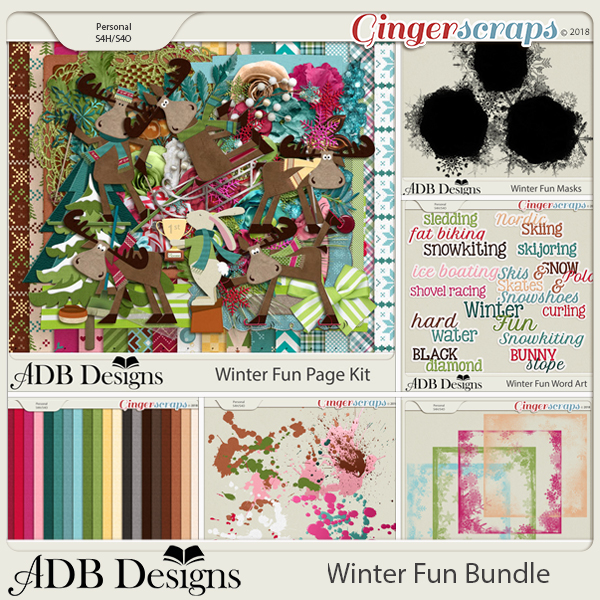 Winter Fun Bundle by ADB Designs