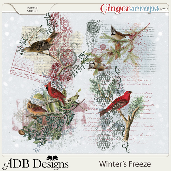 Winter's Freeze Blendables by ADB Designs