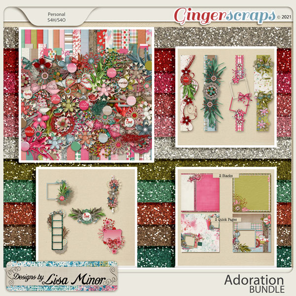 Adoration BUNDLE from Designs by Lisa Minor