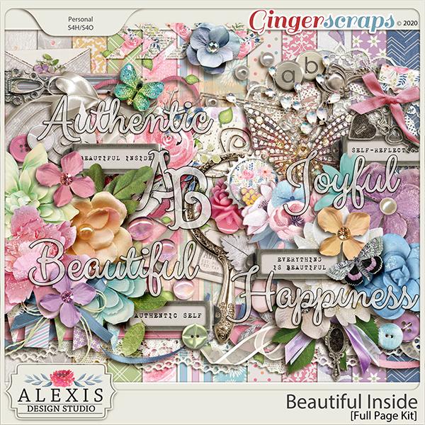 Beautiful Inside - Full Page Kit