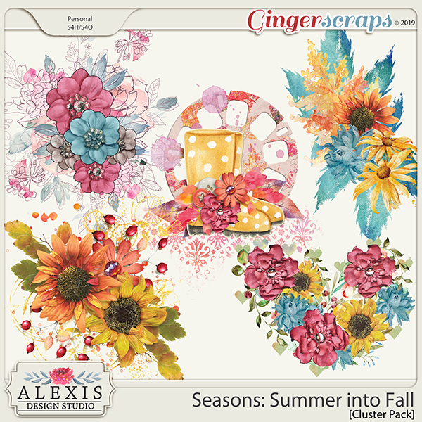 Seasons: Summer into Fall - Cluster Pack