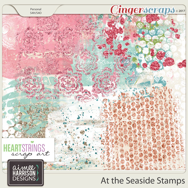 At the Seaside Stamps