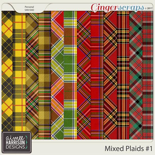 Mixed Plaids #1