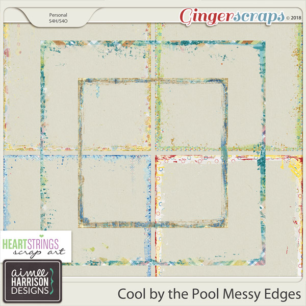 Cool By the Pool Messy Edges by Aimee Harrison and HSA