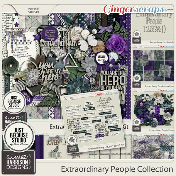 Extraordinary People Collection by Aimee Harrison and JB Studio