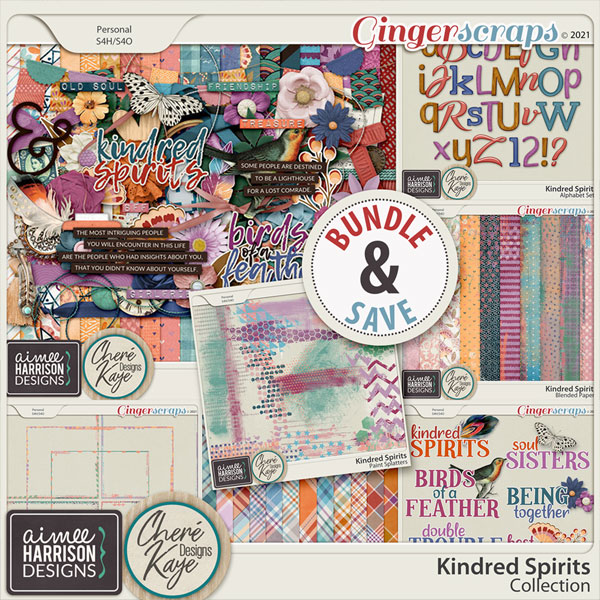 Kindred Spirits Collection by Aimee Harrison and Chere Kaye Designs