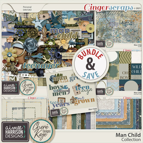 Man Child Collection by Chere Kaye Designs and Aimee Harrison