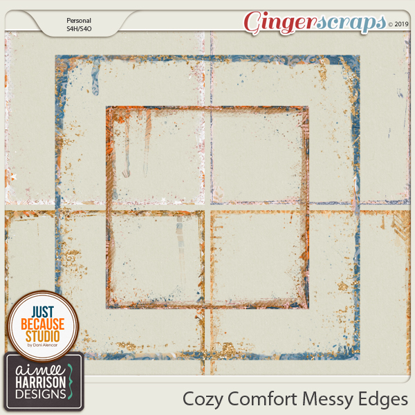 Cozy Comfort Messy Edges by Aimee Harrison and JB Studio