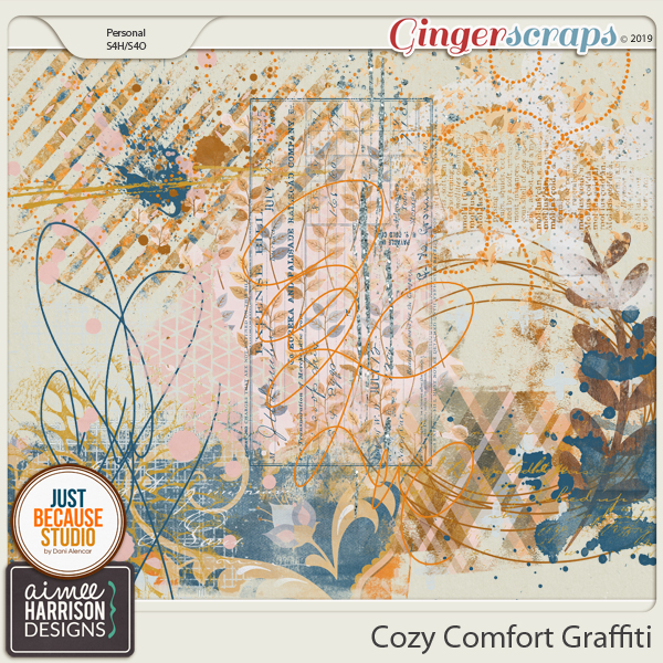 Cozy Comfort Graffiti by Aimee Harrison and JB Studio