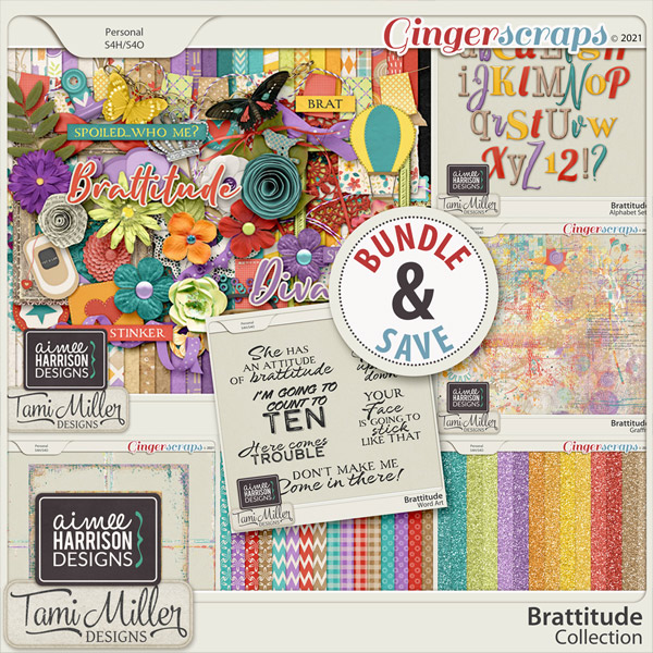 Brattitude Collection by Aimee Harrison and Tami Miller
