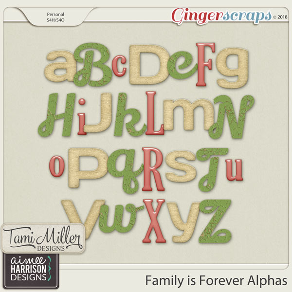 Family is Forever Alpha Sets