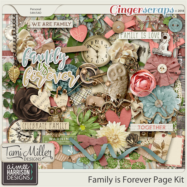 Family is Forever Page Kit