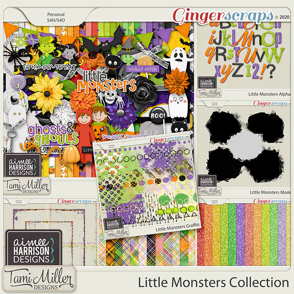 Little Monsters Collection by Aimee Harrison and Tami Miller