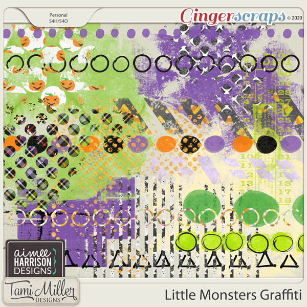 Little Monsters Graffiti by Aimee Harrison and Tami Miller