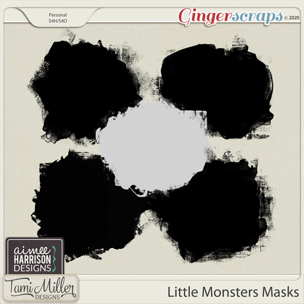 Little Monsters Masks by Aimee Harrison and Tami Miller