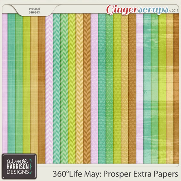 360°Life May: Prosper Extra Papers by Aimee Harrison