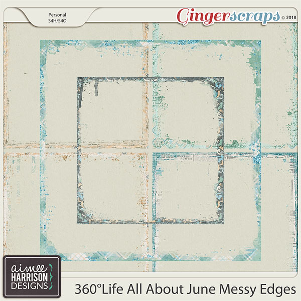 360°Life All About June Messy Edges by Aimee Harrison