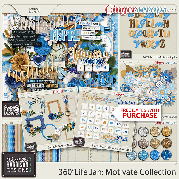 360°Life Jan: Motivate Collection by Aimee Harrison