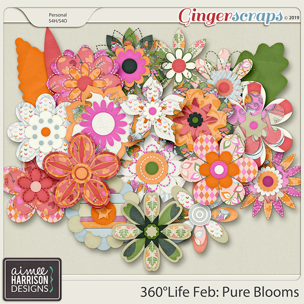 360°Life Feb: Pure Blooms by Aimee Harrison