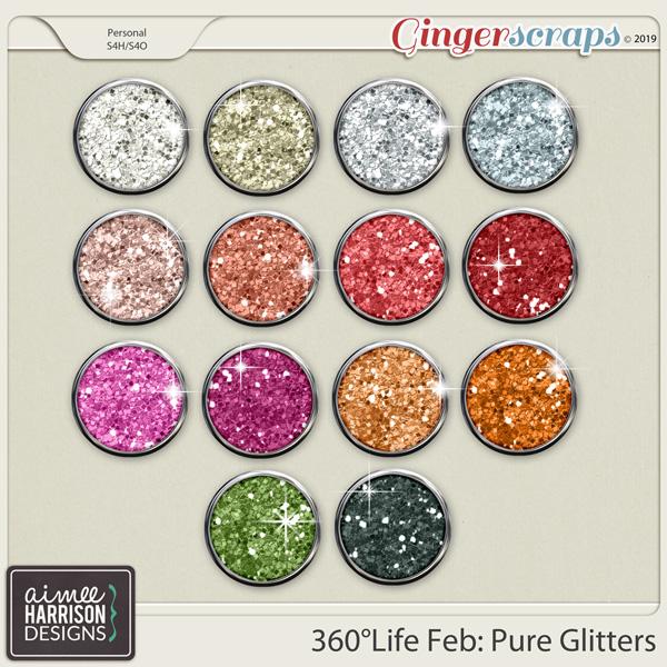 360°Life Feb: Pure Glitters by Aimee Harrison