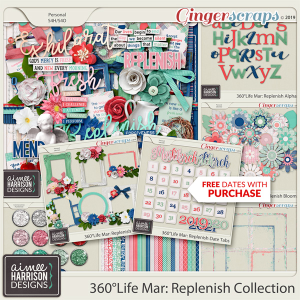 360°Life Mar: Replenish Collection by Aimee Harrison