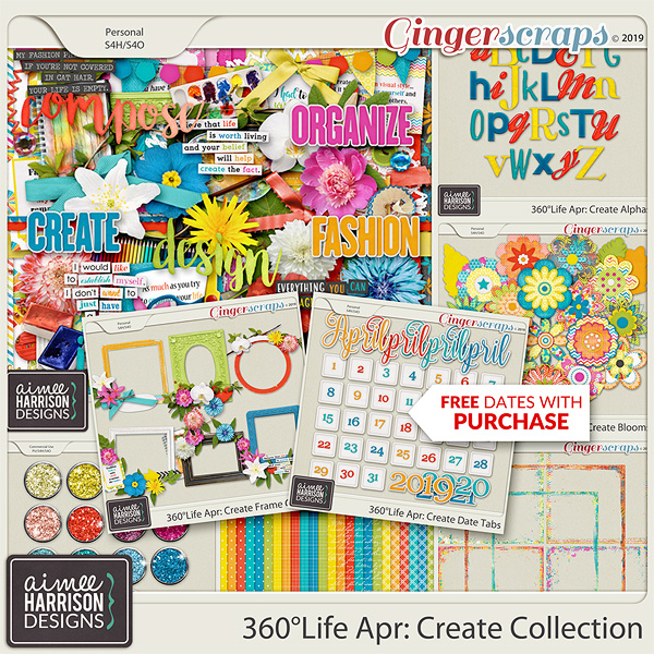 360°Life Apr: Create Collection by Aimee Harrison