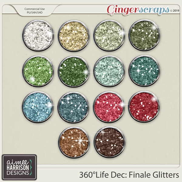 360°Life Dec: Finale Glitters by Aimee Harrison