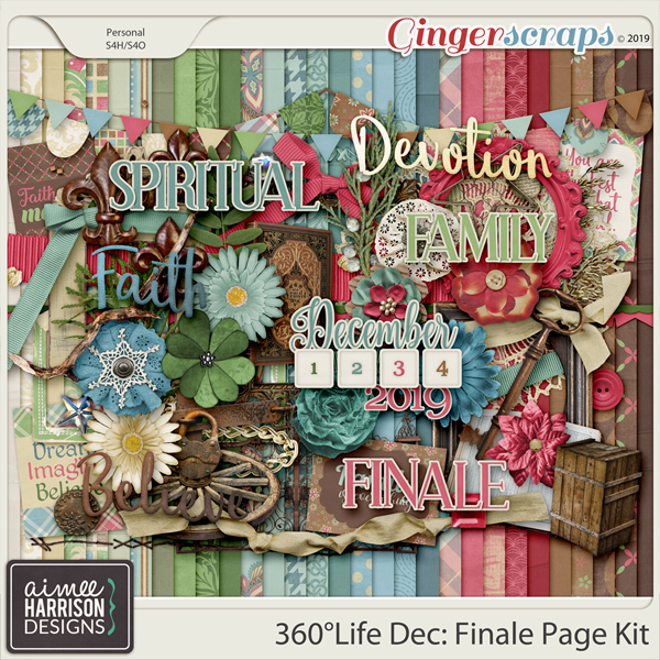 360°Life Dec: Finale Page Kit by Aimee Harrison