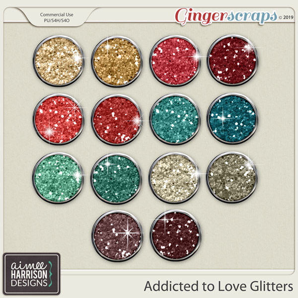 Addicted to Love Glitters by Aimee Harrison