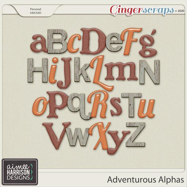 Adventurous Alpha Sets by Aimee Harrison