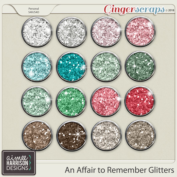 An Affair to Remember Glitters by Aimee Harrison