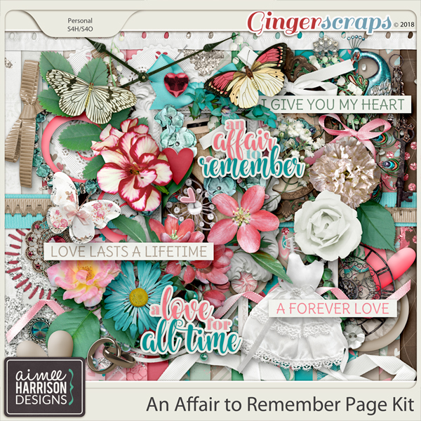 An Affair to Remember Page Kit by Aimee Harrison
