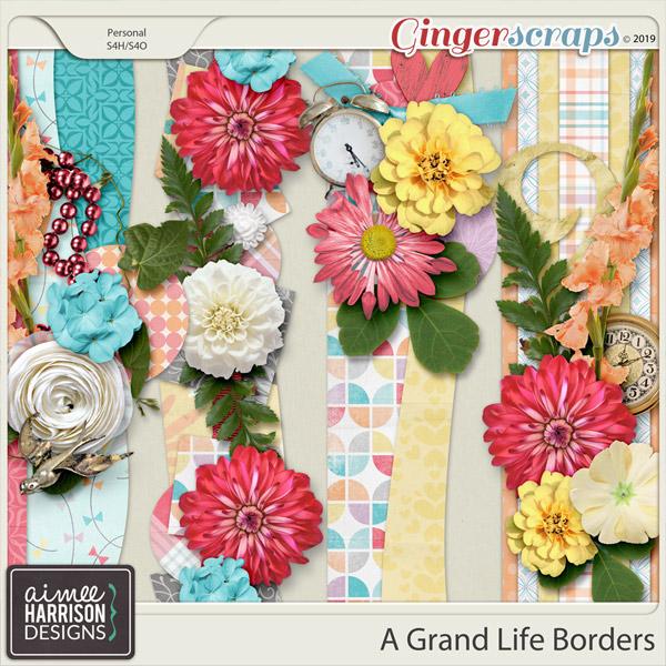 A Grand Life Borders by Aimee Harrison