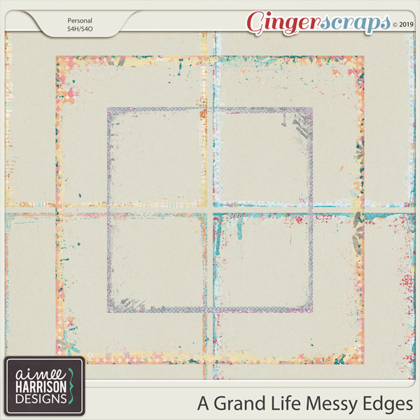 A Grand Life Messy Edges by Aimee Harrison
