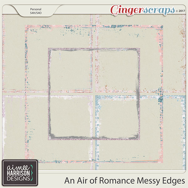 An Air of Romance Messy Edges by Aimee Harrison