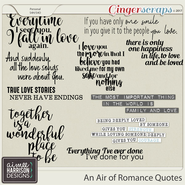 An Air of Romance Quotes by Aimee Harrison