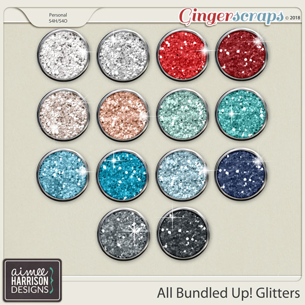 All Bundled Up Glitters by Aimee Harrison