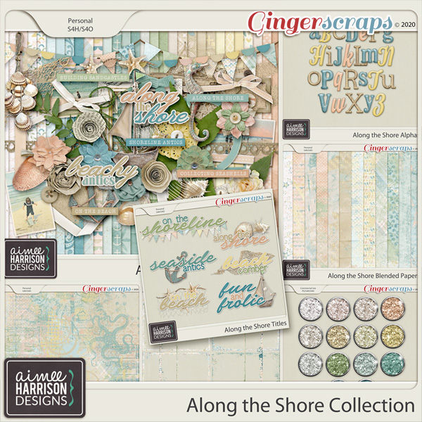 Along the Shore Collection by Aimee Harrison