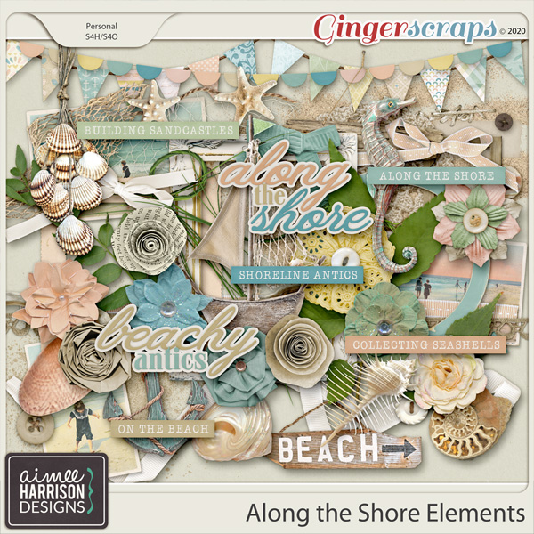 Along the Shore Elements Pack by Aimee Harrison
