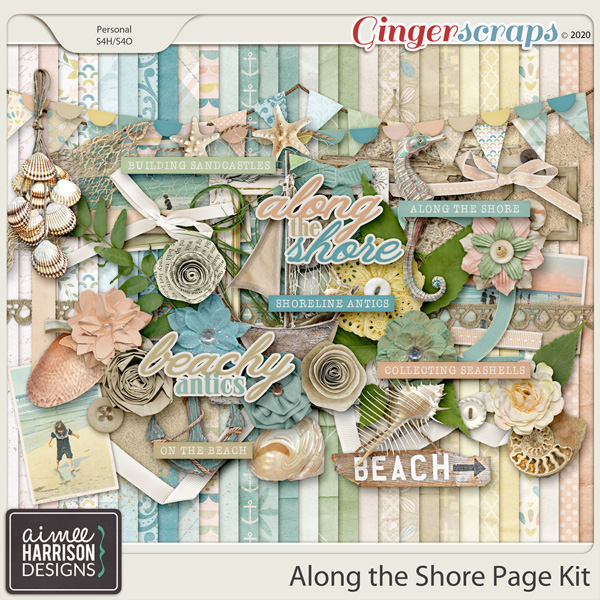 Along the Shore Page Kit by Aimee Harrison