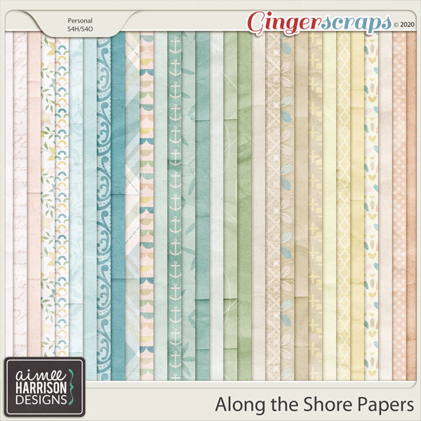 Along the Shore Paper Pack by Aimee Harrison