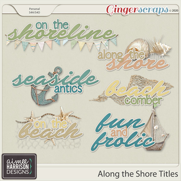 Along the Shore Titles by Aimee Harrison