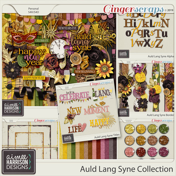 Auld Lang Syne Collection by Aimee Harrison