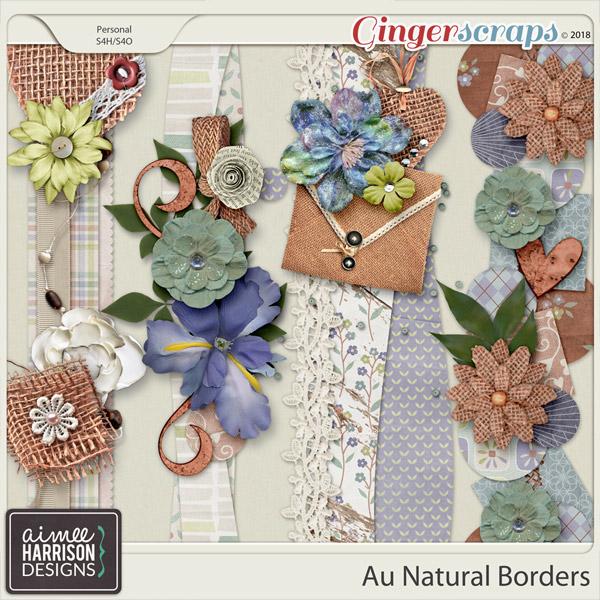 Au Natural Borders by Aimee Harrison