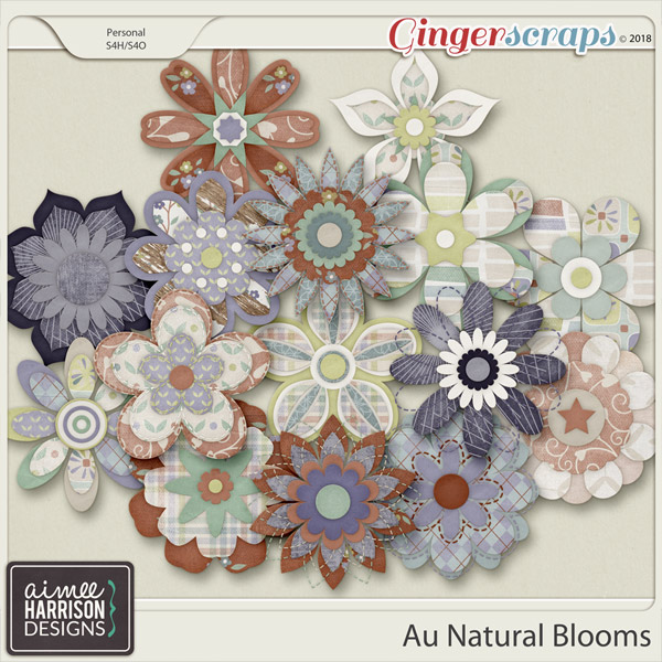 Au Natural Blooms by Aimee Harrison