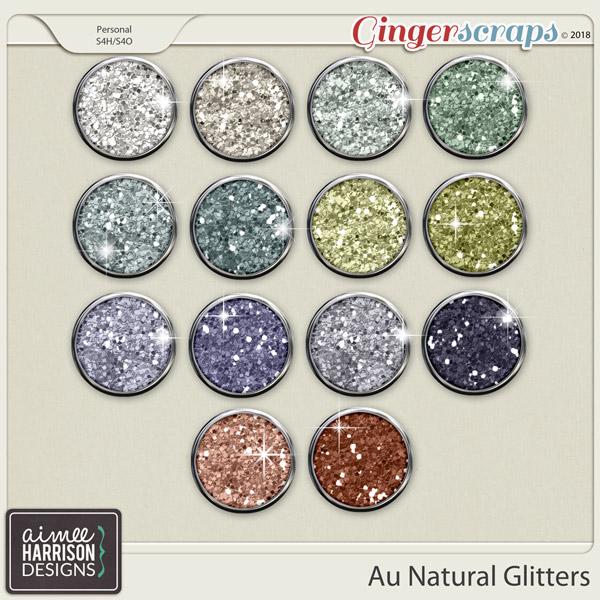 Au Natural Glitters by Aimee Harrison
