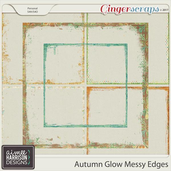 Autumn Glow Messy Edges by Aimee Harrison