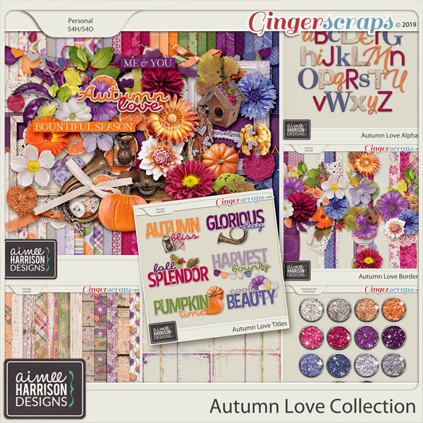 Autumn Love Collection by Aimee Harrison