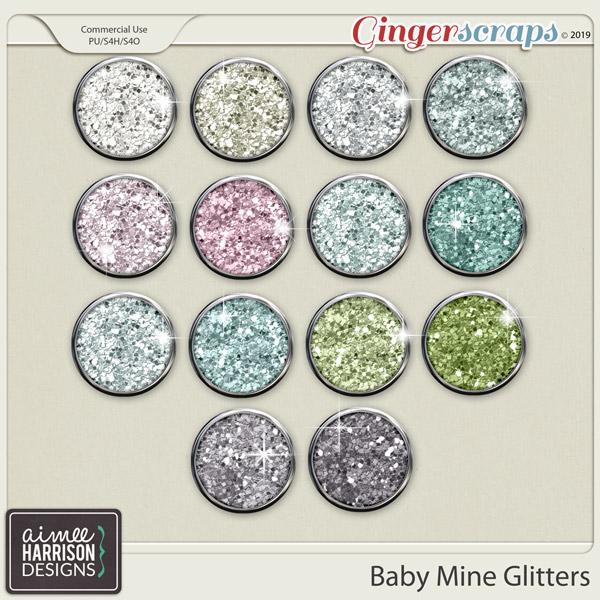 Baby Mine Glitters by Aimee Harrison
